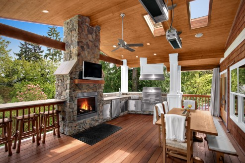 backyard-covered-patio-with-fireplace-upgrade-your-backyard-with-back-yard-covered-decks-0c98aab219db390d